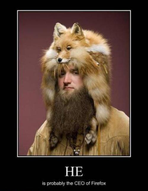 Le Directeur de Firefox sait représenter son entreprise !