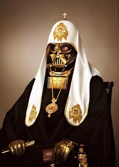 Le Pape façon Guerre des Etoiles